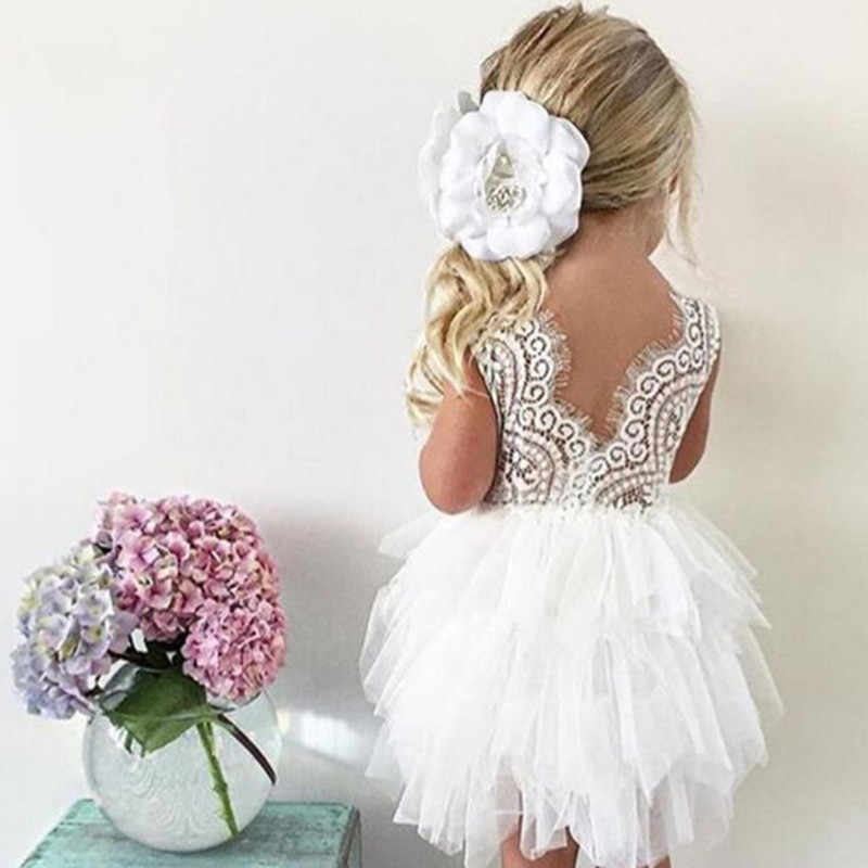 25820fcd0d9 Detail Feedback Questions about Toddler Kids Baby Girl Cotton Lace  Sleeveless Party Dress Children Casual Wear 2 3 4 5 6 Years Christmas Party  Tutu Girl ...