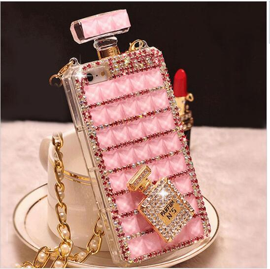 diy handmade luxury perfume bottle bling phone case for. Black Bedroom Furniture Sets. Home Design Ideas