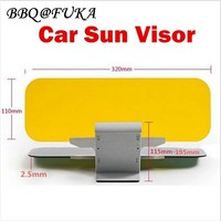 BBQ FUKA Double Sun Visor Clip Sunshade Day And Night Filter Anti Dazzle Mirror Fit For