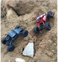 RC Car 4WD 2 4GHz Rock Crawlers Rally climbing Car 4x4 Double Motors Bigfoot Car Remote