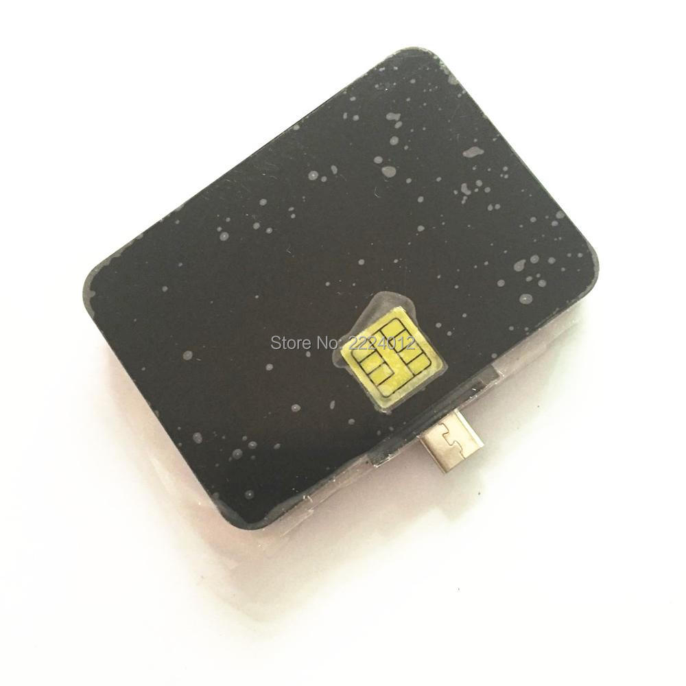 Programmer EMV Micro USB OTG Smart IC Card Reader&Writer #N88 For Android Mobile Phones With 2PCS FM4442 Chip Cards&SDK