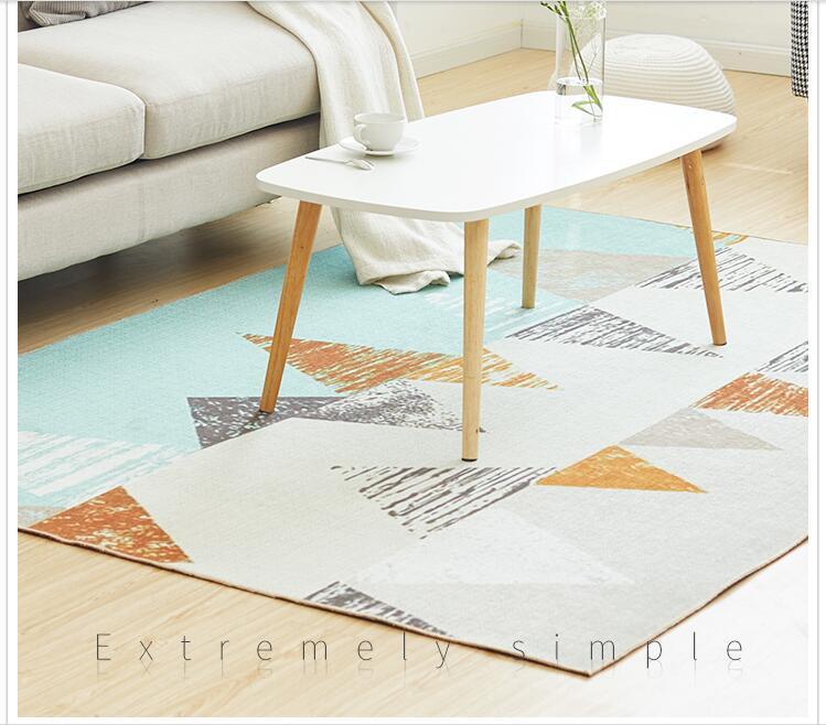 Tapis en tissu Chenille pour salon dessin animé enfants chambre tapis et tapis Table basse tapis enfants tapis de jeu