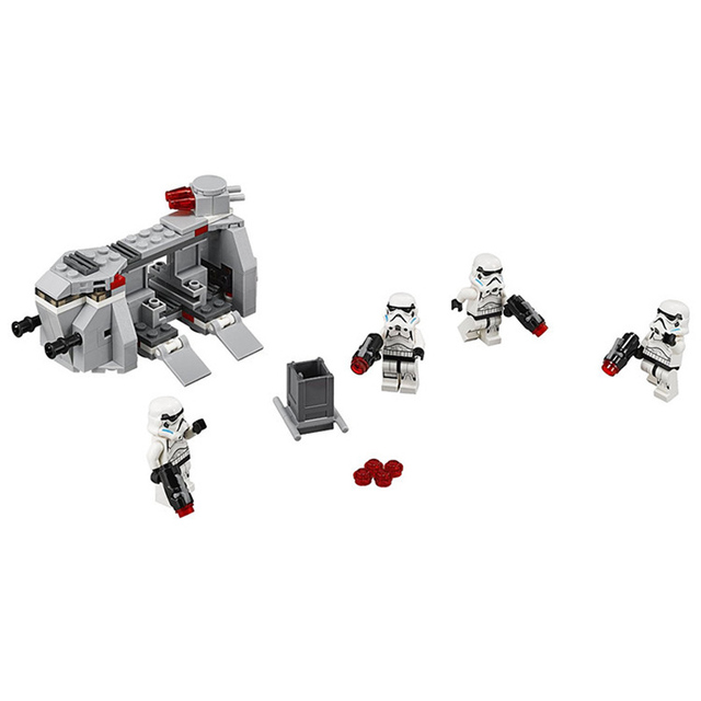 STAR WARS Building Blocks Royal Army Transport Aircraft Clone Troops Trooper Mini Bricks Figures Toys Compatible with legoeINGly