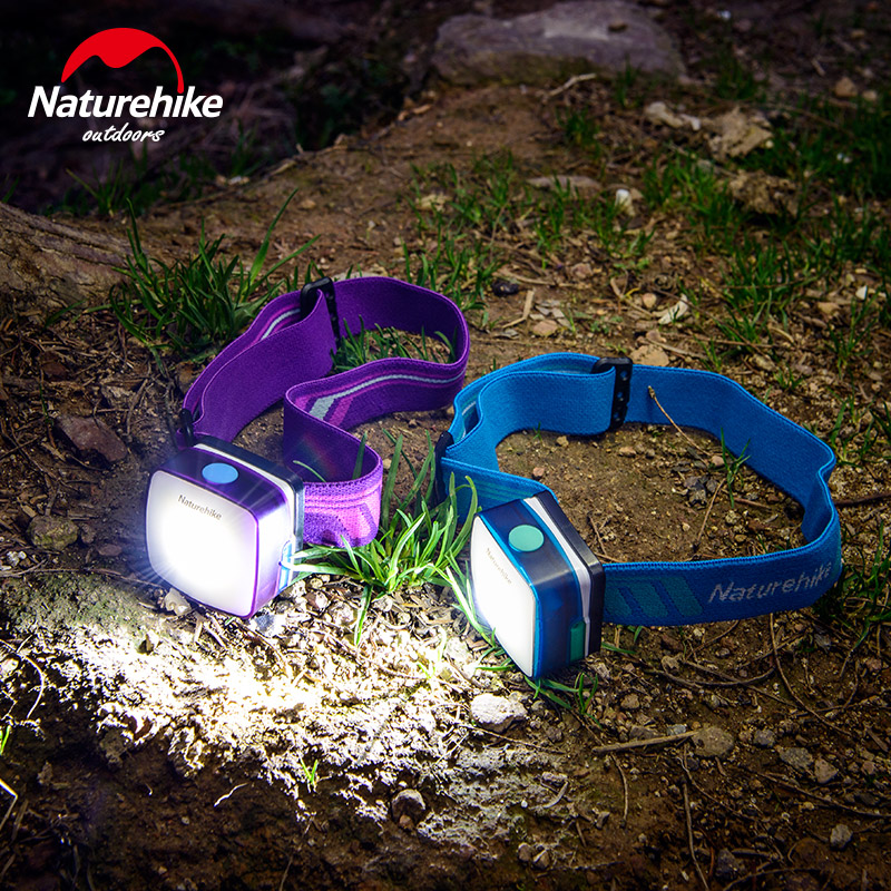 Naturehike Factory Store Outdoor multi-function head lamp lithium battery rechargeable LED Clip cap lamp Strong light tent light