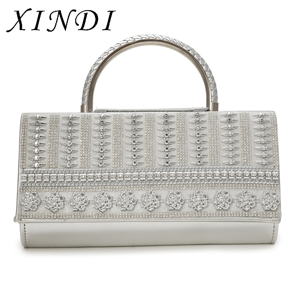 Luxury Handbags Women Tote Bags Designer Shoulder Ladies TOTE Bag PU Leather High Quality Silver With Chain for famous brands women peekaboo bags flowers high quality split leather messenger bag shoulder mini handbags tote famous brands designer bolsa