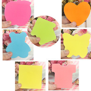 1pc Cute rainbow colored sticky notes and memo pads N times Post it sticker Office material school supplies