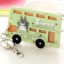 Каваи Тоторо, автобус форма Чехол-10*7 см автобус и ID держатель для карт чехол сумка; Брелок ID Сообщение PAD чехол держатель