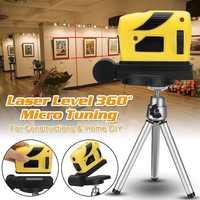 Infrared Laser Level Tool Cross Line 4 In 1 Professional Magnet Multipurpose For Home DIY LB88