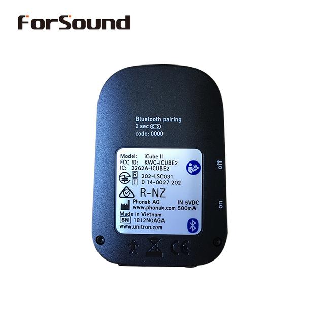 Digital Bluetooth Wireless Phonak Hearing Aid Programming Box Programmer iCube II