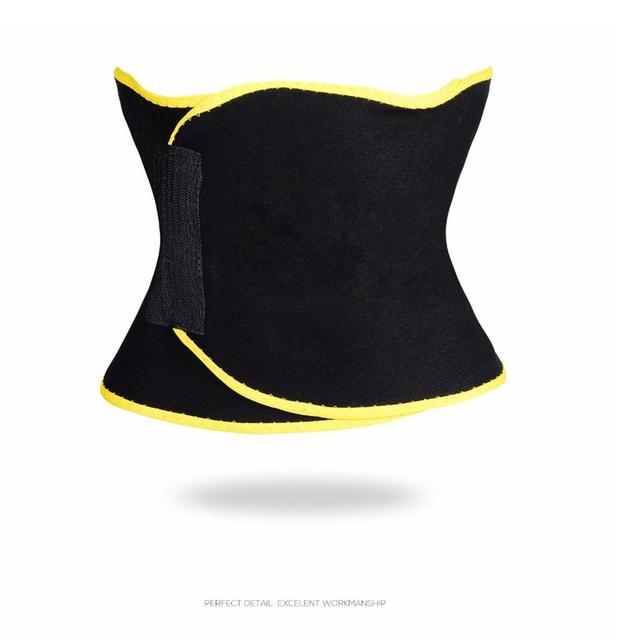 Mounchain Unisex Sport Body-Shaping Bellyband Sexy Underwear Sweat Absorbing Corset Abdomen Belt