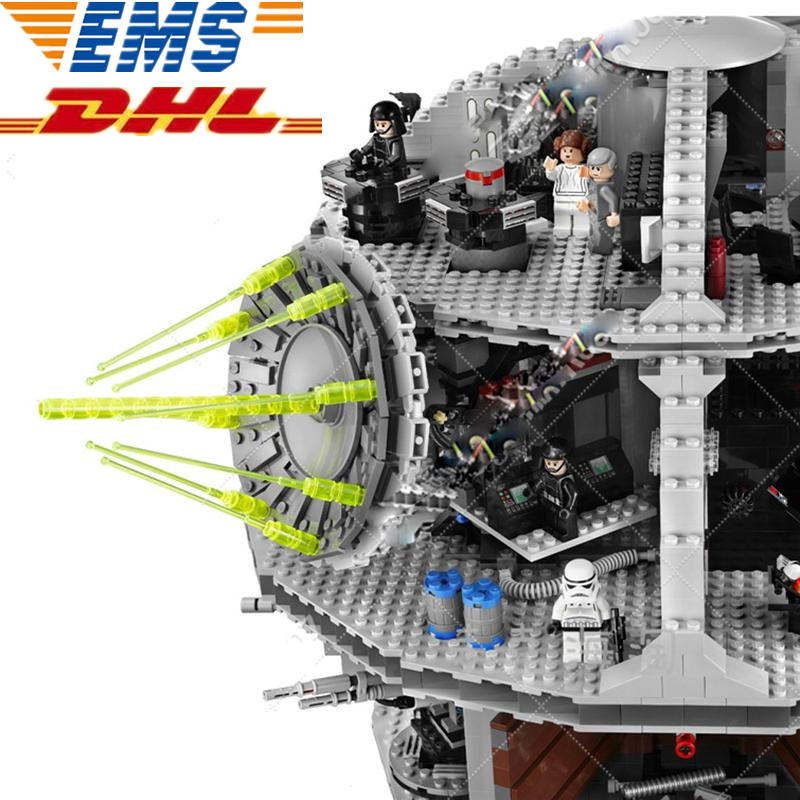 MTELE  3804 Pcs Star Wars Death Star Building Block Bricks Toys Kitsgures Toys Gifts 10188 Compatible With Lego And Lepin 05035 lepin 05035 star wars death star limited edition model building kit millenniums blocks puzzle compatible legoed 75159