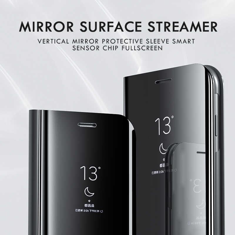 Smart mi rror флип-чехол для телефона для Xiaomi mi 9 SE 8 A1 A2 Lite 5X 6X пленка для экрана с четким изображением для Red mi Примечание iPhone 7 6 Plus 5 iPad Pro 4 4A 4X 6A 5A Prime