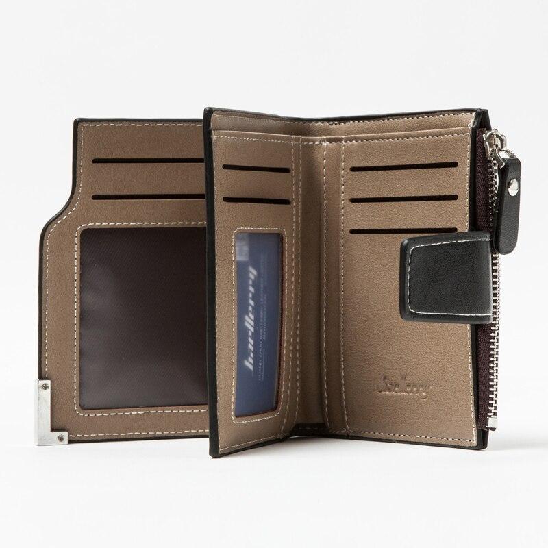 zíper ferrolho carteira masculina Purse Wallet : Wallet Male