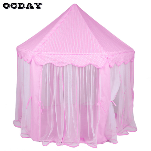 Childrenu0027s Play Tents Girls Pink Lovely Princess Castle Playhouse Tipi Kids Play Tent Teepee Outdoor Toys  sc 1 st  AliExpress.com & Aliexpress.com : Buy Childrenu0027s Play Tents Girls Pink Lovely ...