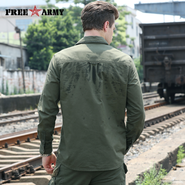 Army Pattern Men's Shirt 2