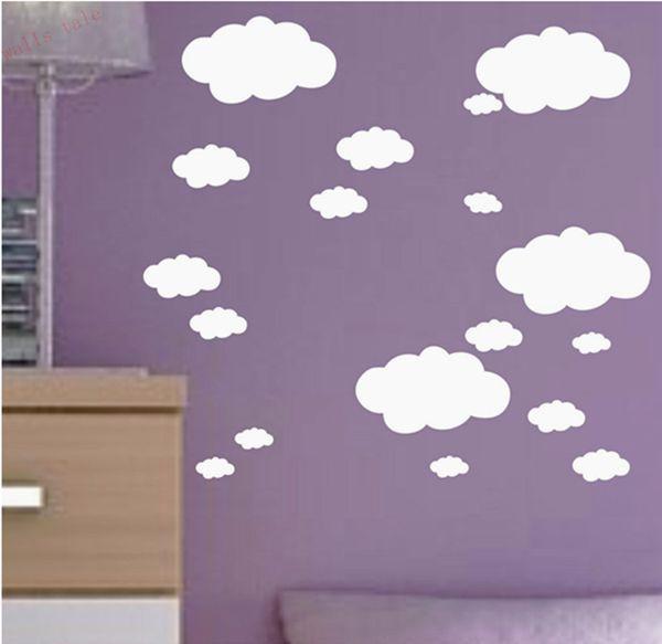 HTB1Ziz3MpXXXXaOXFXXq6xXFXXXn - Mini Clouds wall sticker for kids room