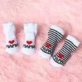 Baby Socken Mädchen Jungen Baby Weiche Socken Für Neugeborene Kleinkind Streifen Brief Gedruckt Frühling Sommer Infant Socken Warme 0-6 monate