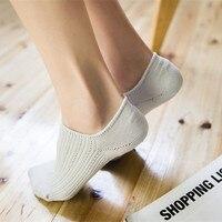 Children Cotton Socks Shallow Socks Ladies Invisible Socks Silicone Slip Socks Pure Cotton Socks 5 Pairs