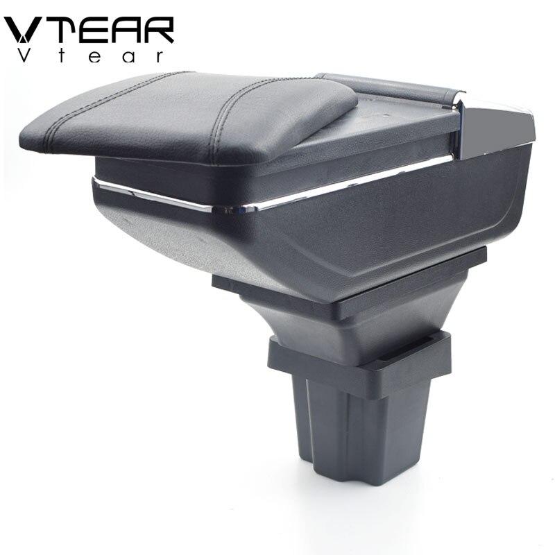 купить Vtear For chevrolet onix armrest box central Store content box cup holder ashtray interior car-styling decoration Accessories по цене 2273.16 рублей