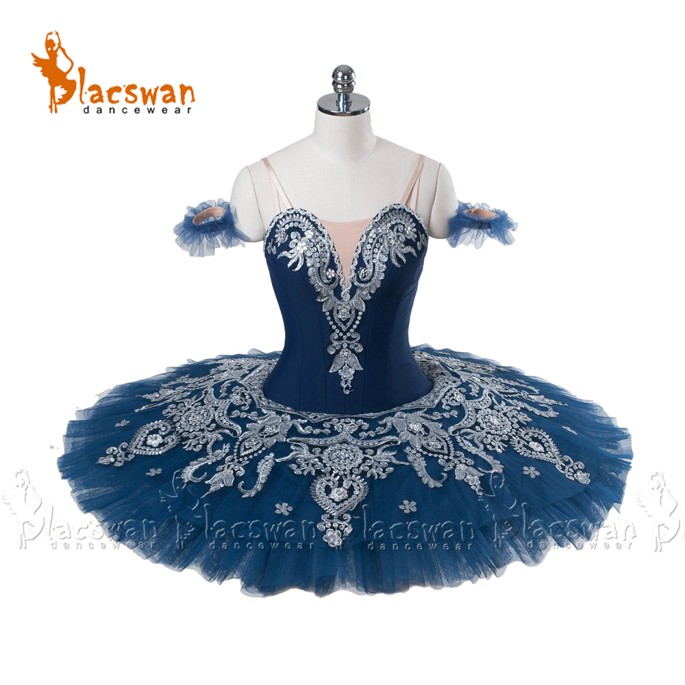 Professional Ballet Platter Tutu Skirt Dance Dress White Snow Lac Ballet Costume