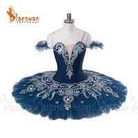 Navy Professional Ballerina Tutu BT886 Classical Ballet Tutu Costume Stage Performance Costume Tutu Snow White Professional Tutu