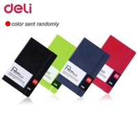 Deli 3347 Business 98 Pages Stationery Pocketbook 25K Notebook Business School Diary Journal Records Notes Office