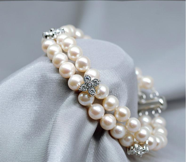 freshwater pearl bracelet 44