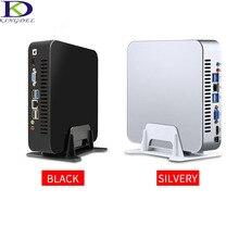 Kingdel Fan Metal Case Mini PC Intel Quad Core Dedicated Card HTPC i7 4700HQ 6M Cache i7 6500U i5 6200U Dual Core 32G RAM 1TBSSD