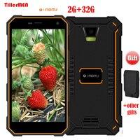 2 GB RAM 32 GB ROM Oinom V18H IP68 Su Geçirmez 5 inç 13MP 4G LTE Akıllı telefon Android 5.1 5000 mAh Quad Core MTK6735 Cep Telefonu s10