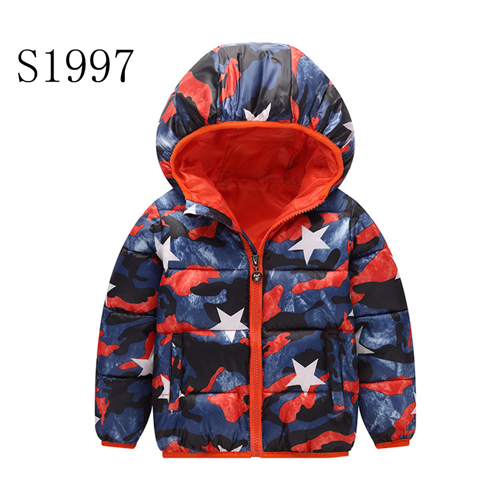 Kids Outerwear Coats 2017 New Brand Baby Winter Jacket Girls Windbreak Warm Down Parkas High Quality 2-8 Years
