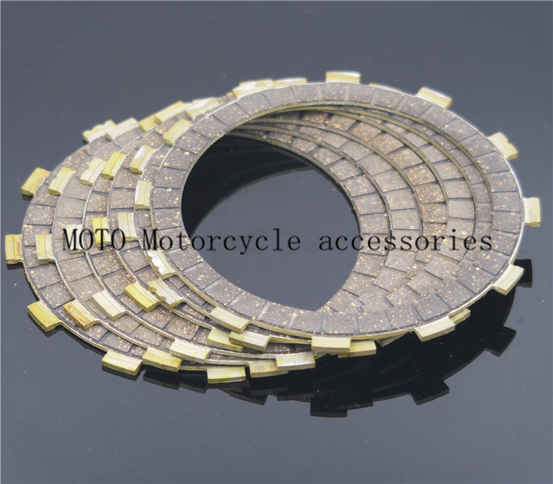 Clutch Disc Friction Plates Set for Yamaha YZF1000 YZF R1 YZF-R1 99-03 1999 2000 2001 2002 2003 Clutch Friction Plates Disc 8pcs friction