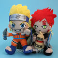 Japanese Cartoon Uzumaki Naruto Sabaku no Gaara Plush Toy Soft Stuffed Dolls Children Christmas Gift