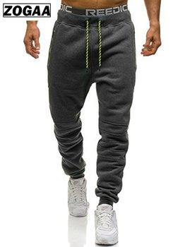 ZOGAA Men Sportswear Pants Casual Elastic Pant For Mens Fitness Workout Pants Loosen Sweatpants Trousers Jogger Pants autumn winter men sweatpants drawstring with pocket sport pants casual fitness jogger running workout pants trousers sportswear