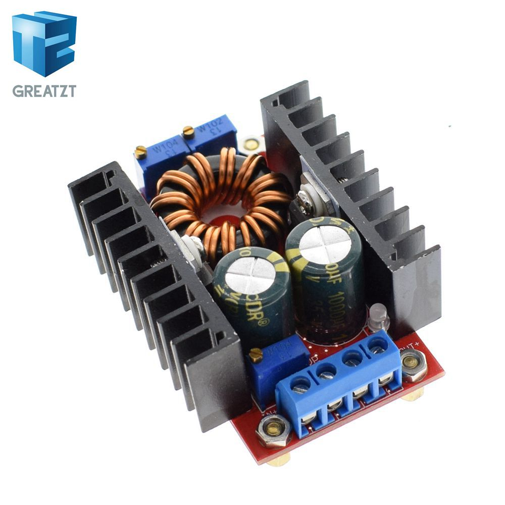 DC-DC CC CV Buck Boost Converter 9-35 to 1-35V 80W Buck Booster DC Step Down Step Up Adapter Module Adjustable Voltage Regulator