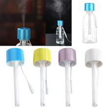 Portable Mini Water Bottle Caps Humidifier Aroma Air Diffuser Mist Maker 1Pc