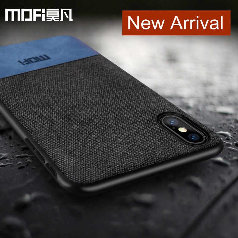 Capa mofi para iphonex, capa de silicone à prova de choque para homens de negócios, apple x, iphone x, capa traseira capa para iphone x
