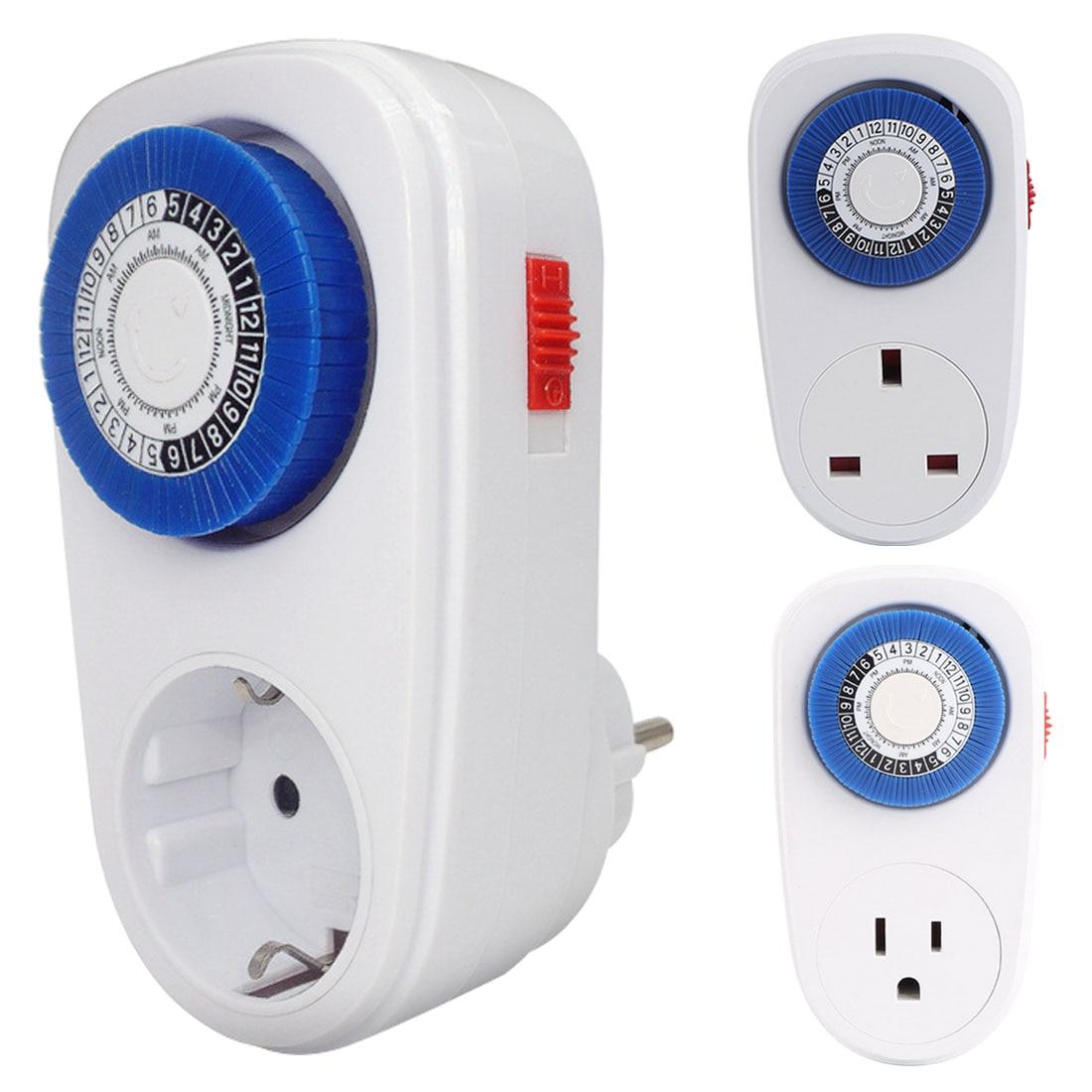 Compteur d/énergie num/érique avec r/étro/éclairage Wattm/ètre Compteur d/énergie Prise de courant Plug-in Moniteur /électrique /Écran LCD /Écran Analyseur de m/énage Blue EU plug