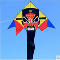 Envío de la alta calidad de la cometa tradicional china la ópera de pekín kite flying juguetes ripstop nylon aves águila rueda kite pulpo