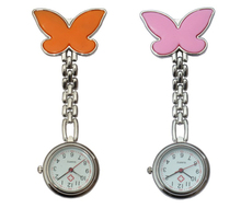 Greatest High quality 200pcs/lot Free Transport Butterfly Nurse Watch, Alloy Quartz Watches, Physician Medical Clock Wholesales