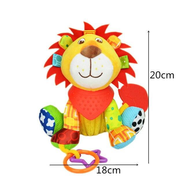 1 stks Sozzy Multifunctionele Baby Speelgoed Rammelaars Mobiles Zachte Katoen Baby Kinderwagen Wandelwagen Auto Bed Rammelaars Opknoping Animal Knuffels 1