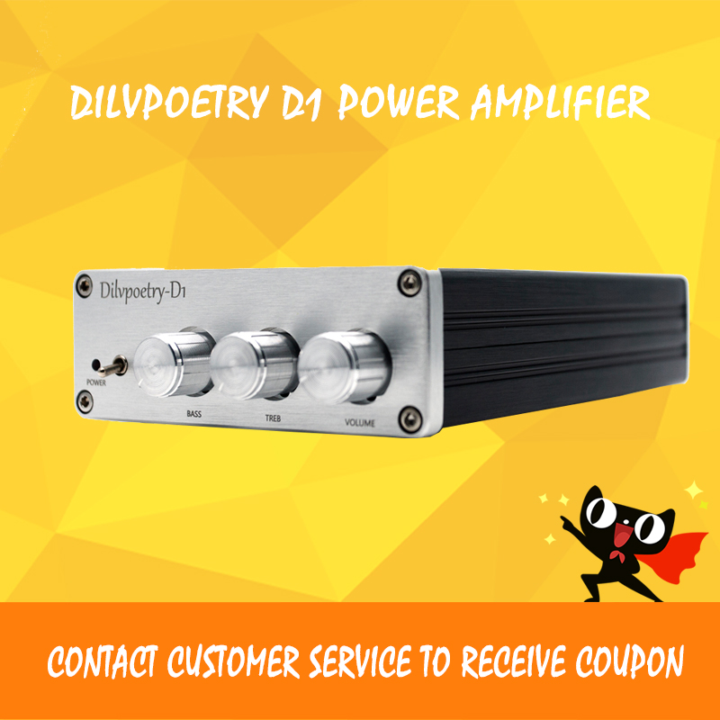 Dilvpoetry D1 subwoofer amplifier TPA5613 Hifi 2.1 amplifier bluetooth 4.1 Digital Audio Power Amplifier цена 2017