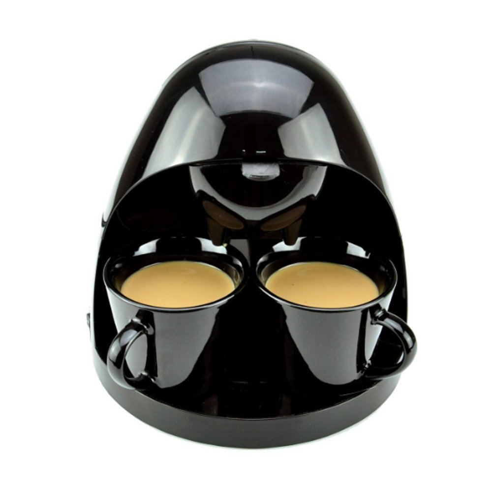 K Cup And Drip Coffee Maker Combo : Free shipping LAGUTE Double Serve Drip Coffee Maker 250ml/2 cup Mini Coffee Machine with Two ...