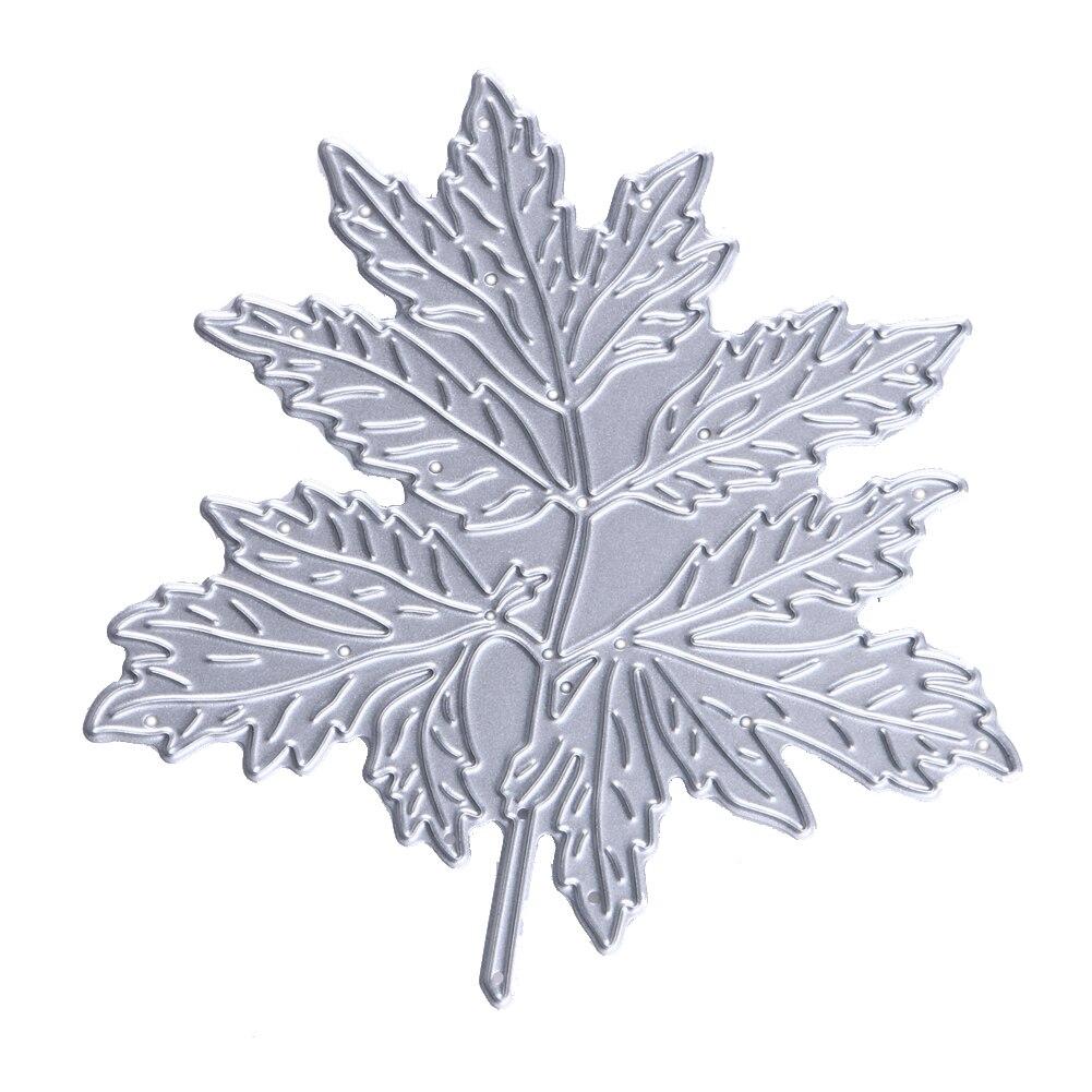 Aliexpress.com : Buy 8.2x8 cm Metal Maple Leaf Pattern ...