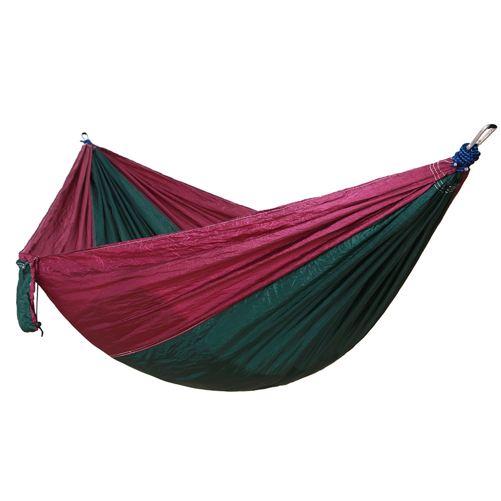 Portable Outdoor Hammocks Sports Home Travel Hang Bed Double Person Leisure travel hiking Parachute Garden Camping Hammock 2 people portable parachute hammock outdoor survival camping hammocks garden leisure travel double hanging swing 2 6m 1 4m 3m 2m