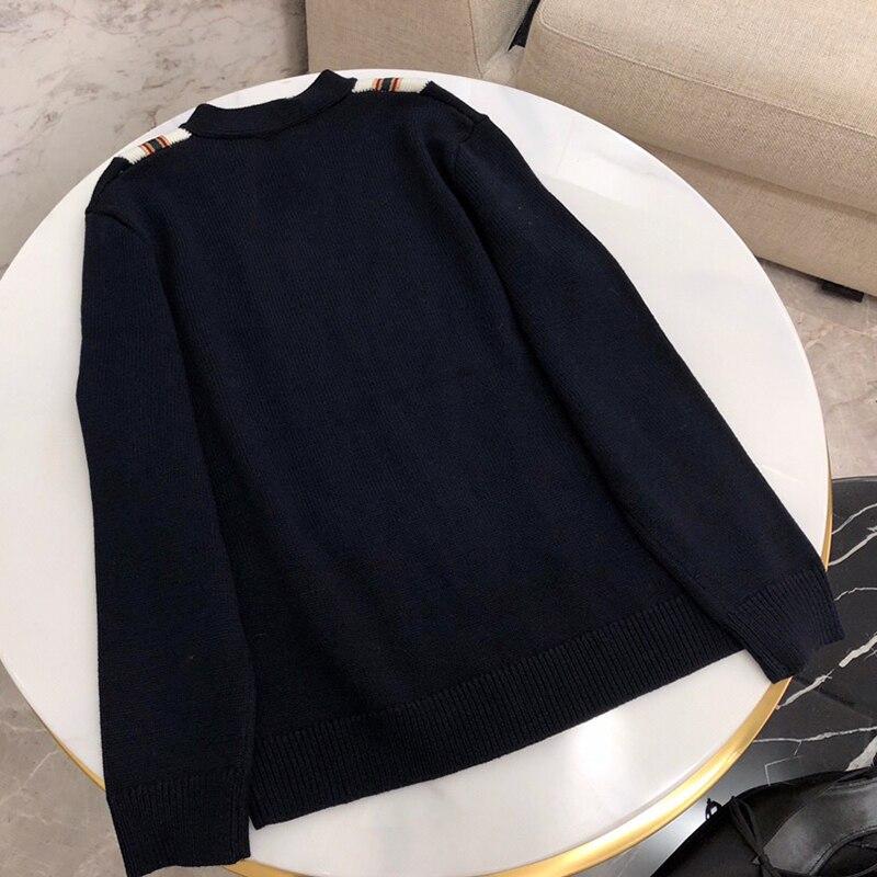 cou V Casual Cardigans Cardigan Chandail 2019 Longues Lady Haute Nouveau Chandails Qualité Pour À Manches Femmes qYUZAwX