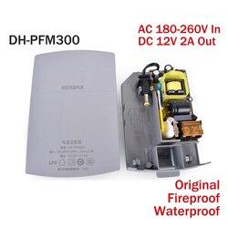 DH oryginalny DH-PFM300 zasilacz wejście adaptera AC 180 ~ 260 v wyjście DC 12 v 2A moc na KAMERA TELEWIZJI PRZEMYSŁOWEJ wody /odpornego na ogień