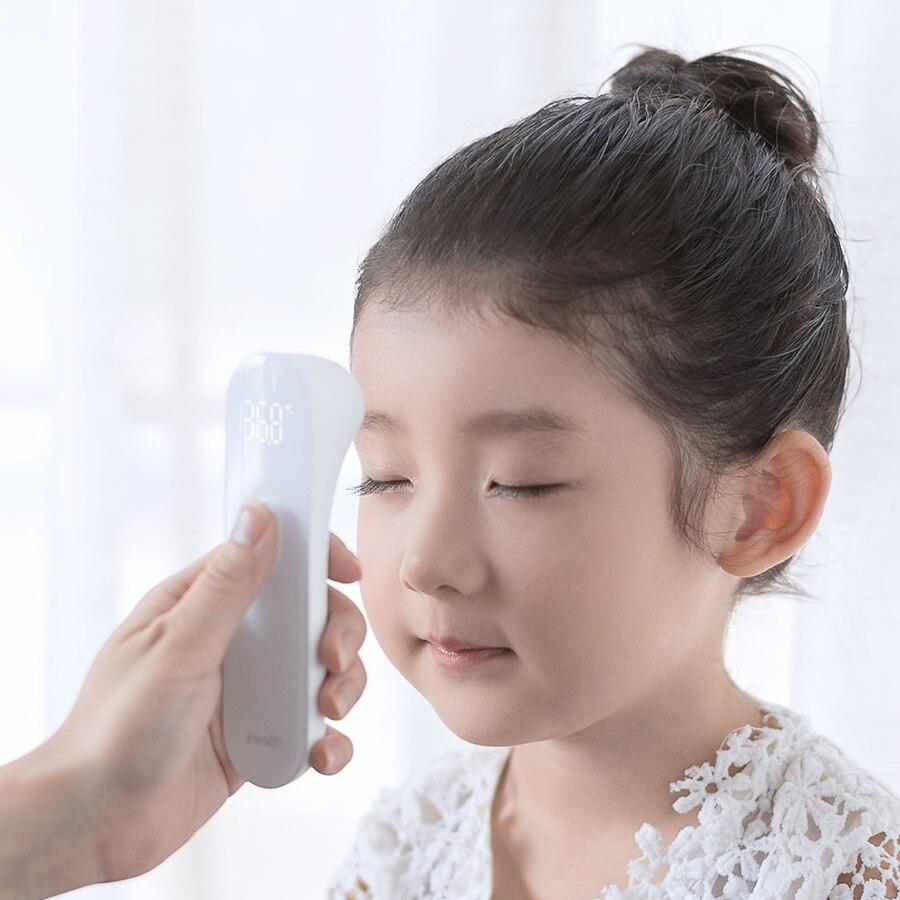 D'origine Xiaomi Mijia iHealth Thermomètre Précis Numérique Fièvre Infrarouge Clinique Sans Contact Mesure LED Lecture Claire