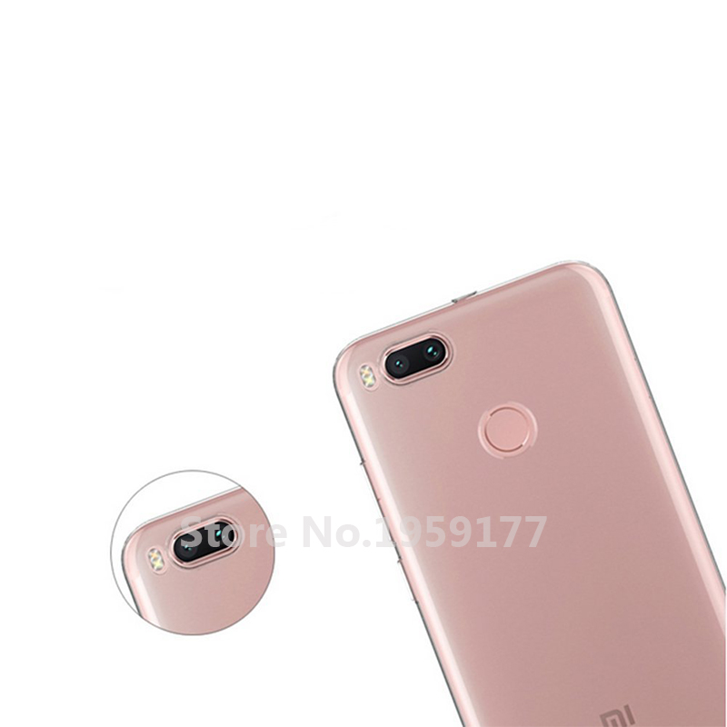 MODAZONGYE Soft Transparent Case Xiaomi Mi A1 Case Cover Silicone Back Cover Phone Case For Xiaomi Mi A1 MiA1 5.5 inch (3)