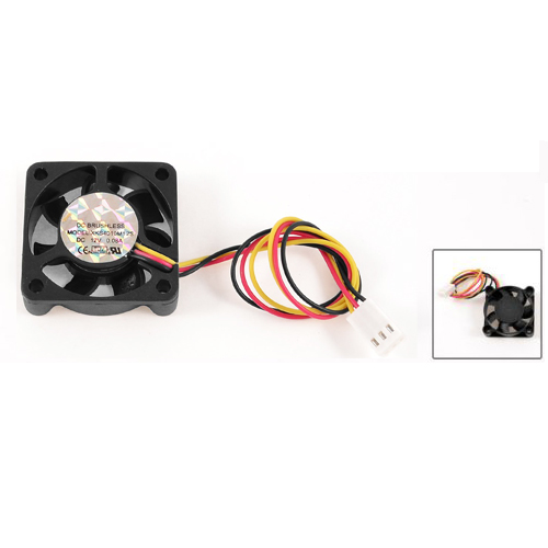 GTFS-Hot 40mm x 10mm 4010 8.9 CFM 3Pins 12V DC Brushless Computer Cooling Fan delta 4010 asb0412ha fk2 7372 hydraulic bearing cooling fan with 40 40 10mm 12v 0 1a 3 wires for bridge chip