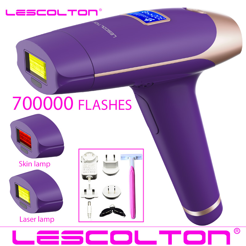2019 New Lescolton 6in1 5in1 4in1 IPL Epilator Permanent Laser Hair Removal T009i 1600000Pulses depilador a laser Photoepilator